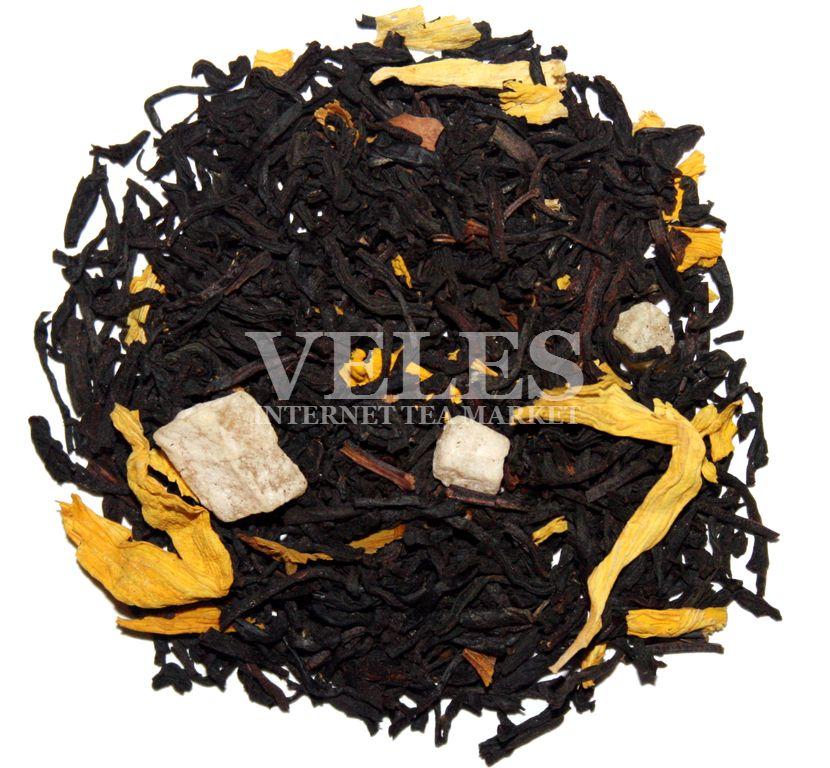 На основе черного чая