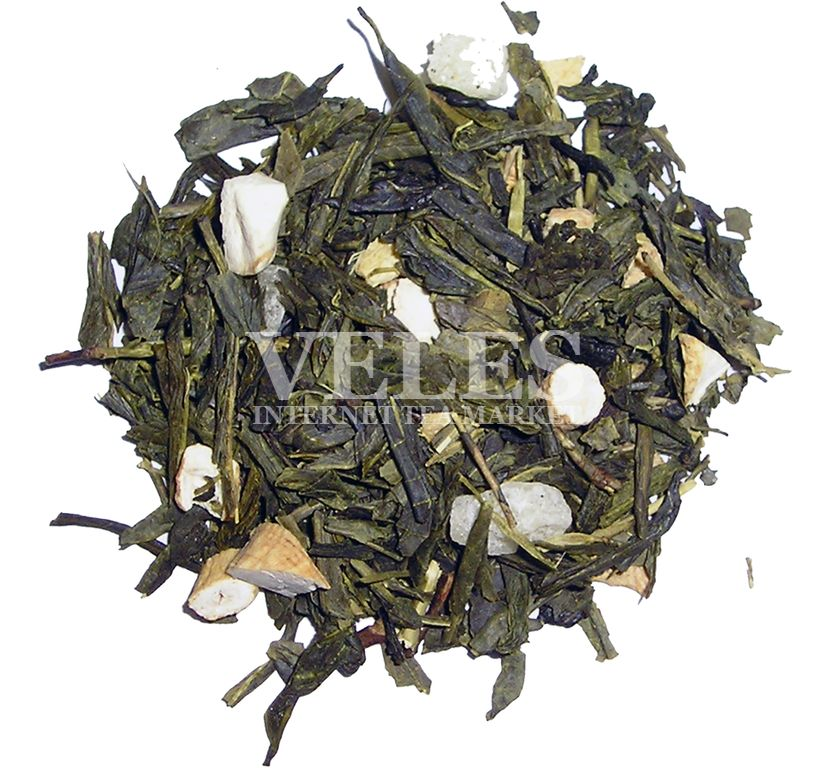 На основе зеленого чая